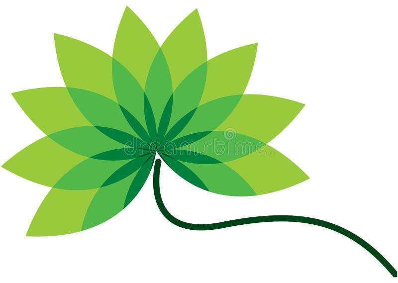 Download Green flower stock illustration. Image of artwork, communication - 12177193