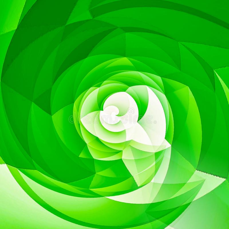Green flower graphic design . Green flower graphic designs on white backdrop .vector pattern wallpaper royalty free illustration
