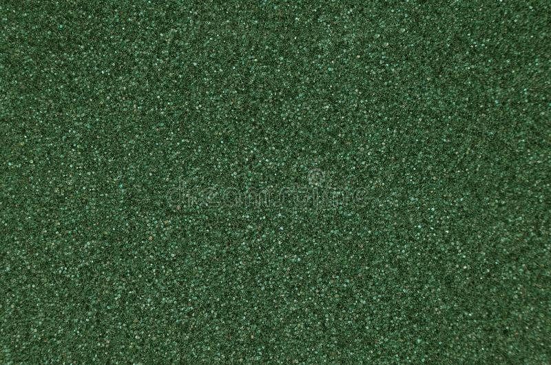 Green foamed rubber. Close up as background stock images