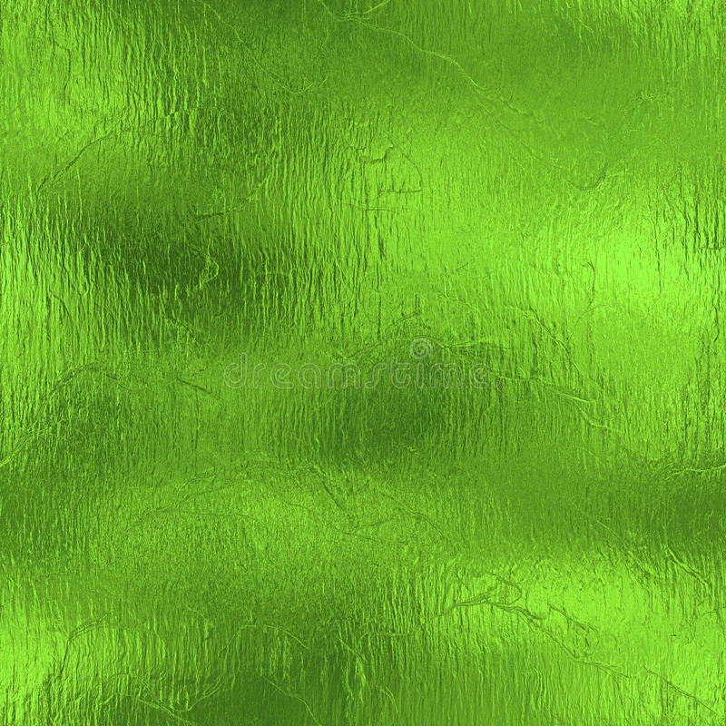 Free Green Foil Seamless Texture. Stock Photo - 81390120