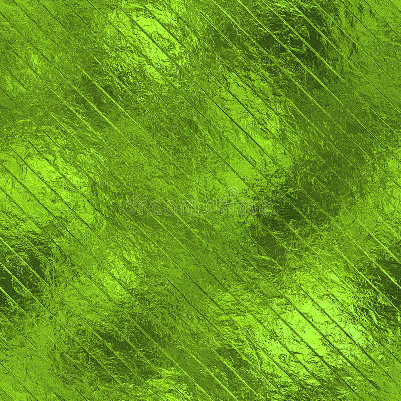 Green Foil Seamless Texture. Green foil seamless and tileable luxury and shiny holiday background texture stock photos