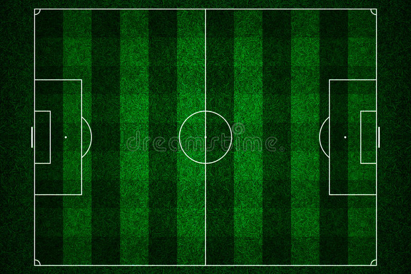 Green Football Stadium Stock Image Image Of Background