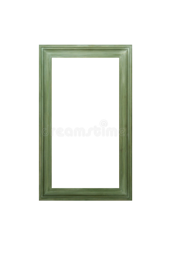 Green frame royalty free stock image