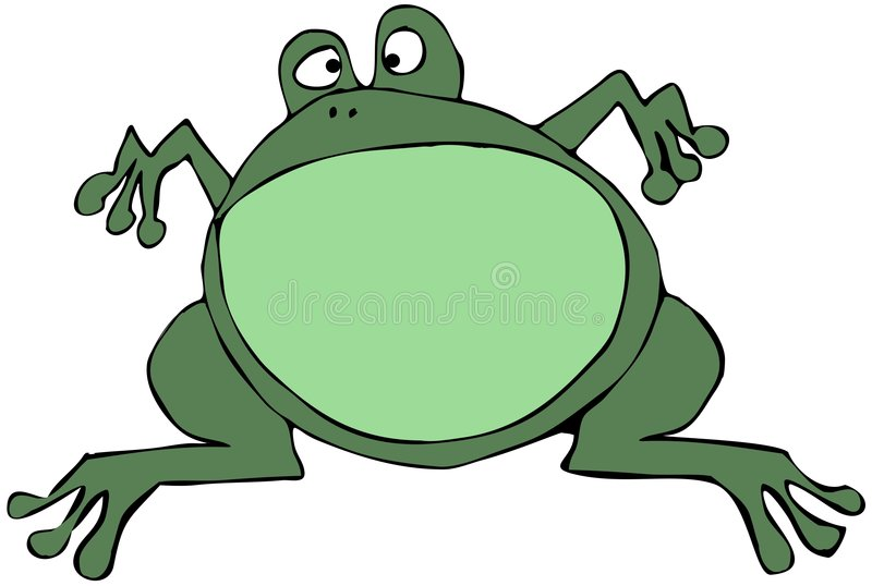 Download Green Frog stock illustration. Image of toad, frog, green - 7924963