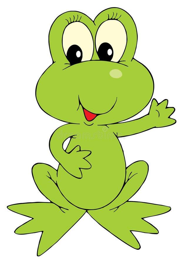 Download Green Frog (vector Clip-art) Stock Vector - Image: 3641872