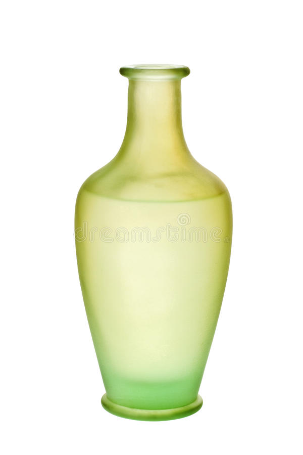 Download Green Frosted Glass Vase Isolated Stock Photo - Image of isolated, vase: 13092638