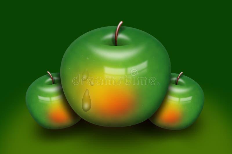 Green, Fruit, Granny Smith, Apple stock photos