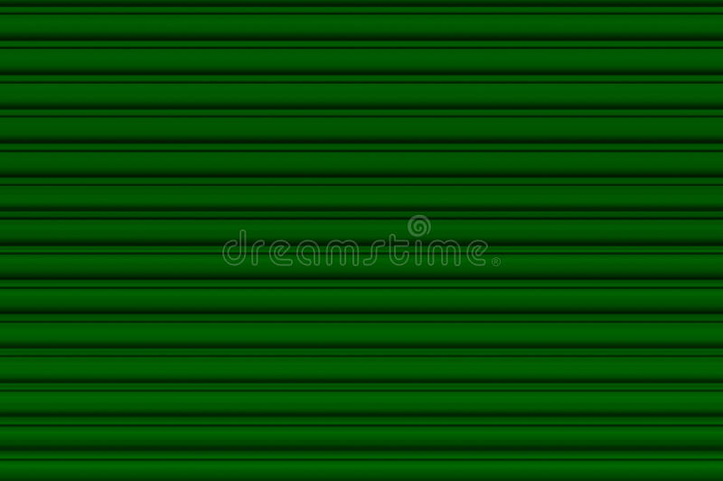 Green garage door royalty free stock images