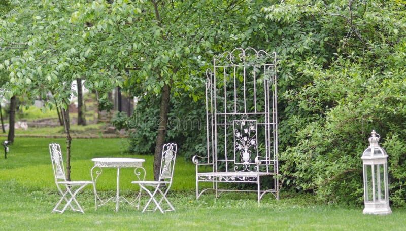 Green garden royalty free stock photography