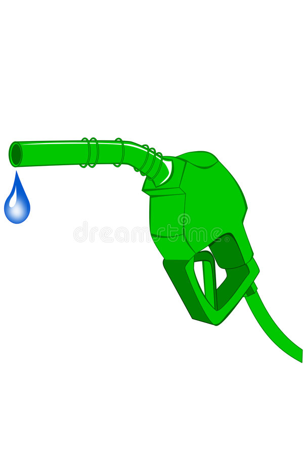 Download Green Gas Pump Nozzle Stock Photos - Image: 7434373