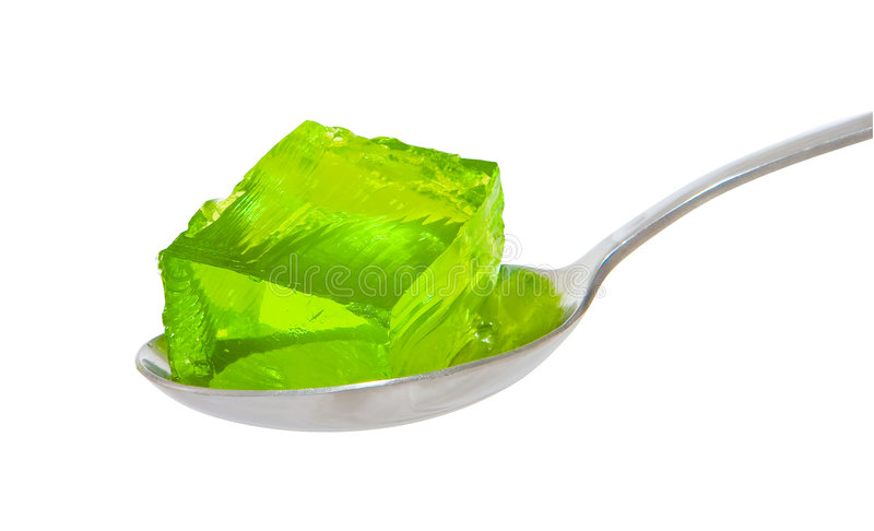 green geléskeden royaltyfria foton