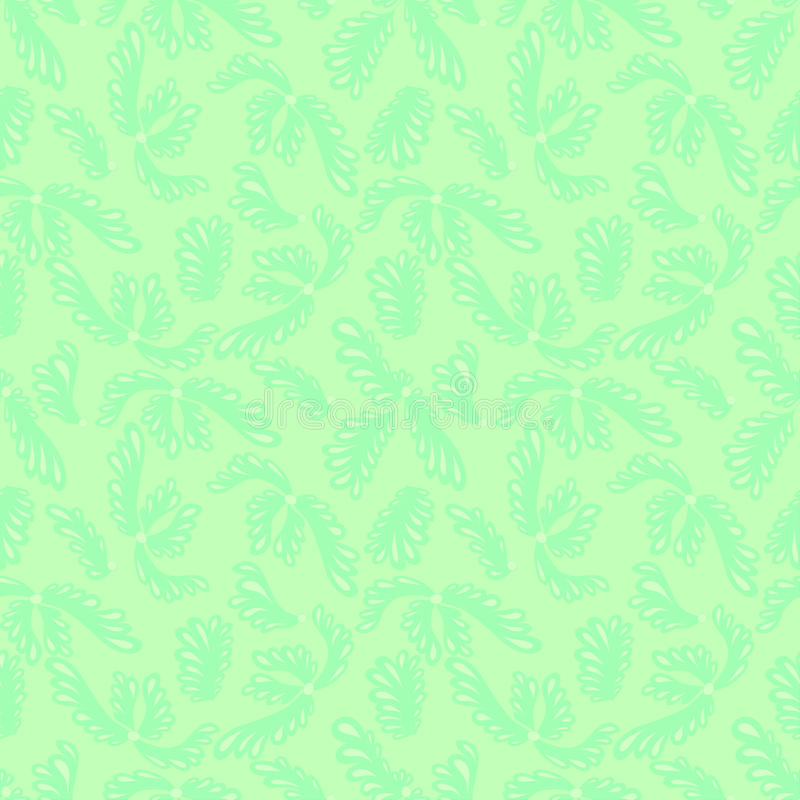 Green gentle seamless background for web site vector illustration
