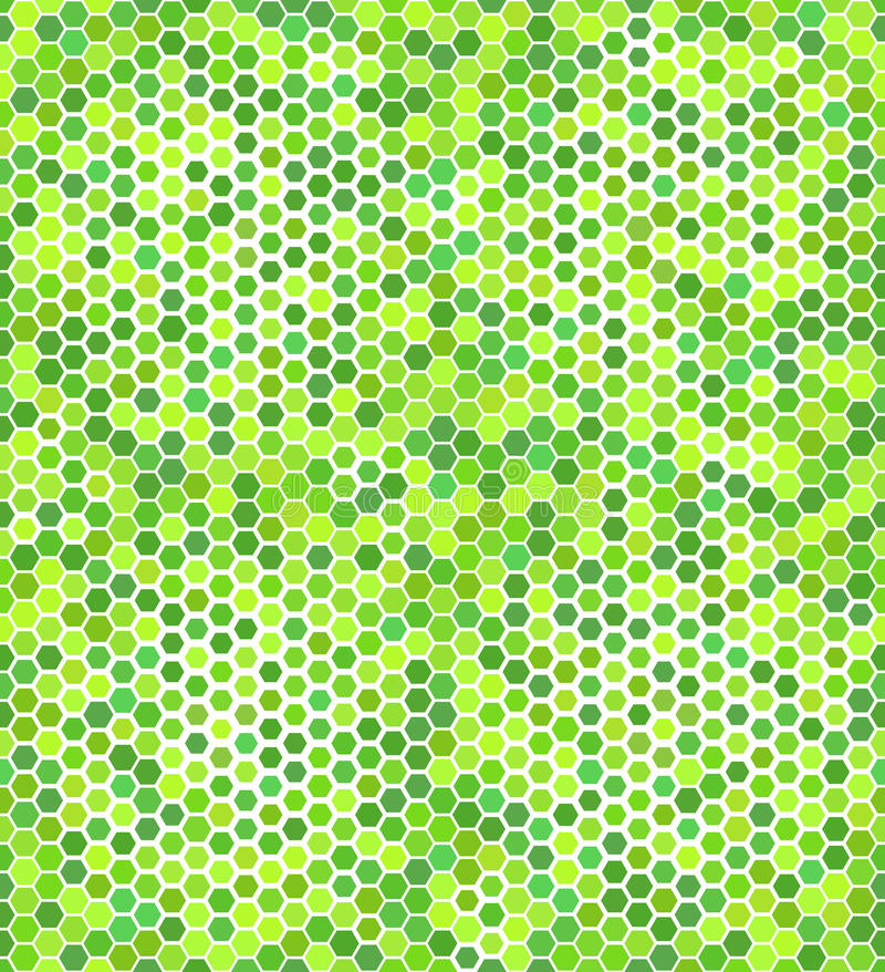 Free Green Geometric Seamless Pattern Stock Photography - 41542692