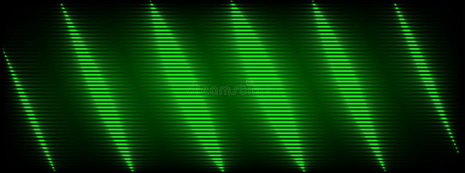 Green glitch background. Distortion effects for advertising.  royalty free illustration