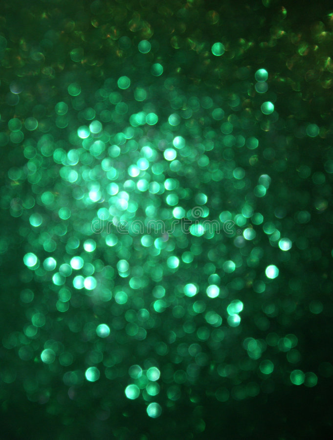 Free Green Glittery Blur Background Royalty Free Stock Photography - 3220037
