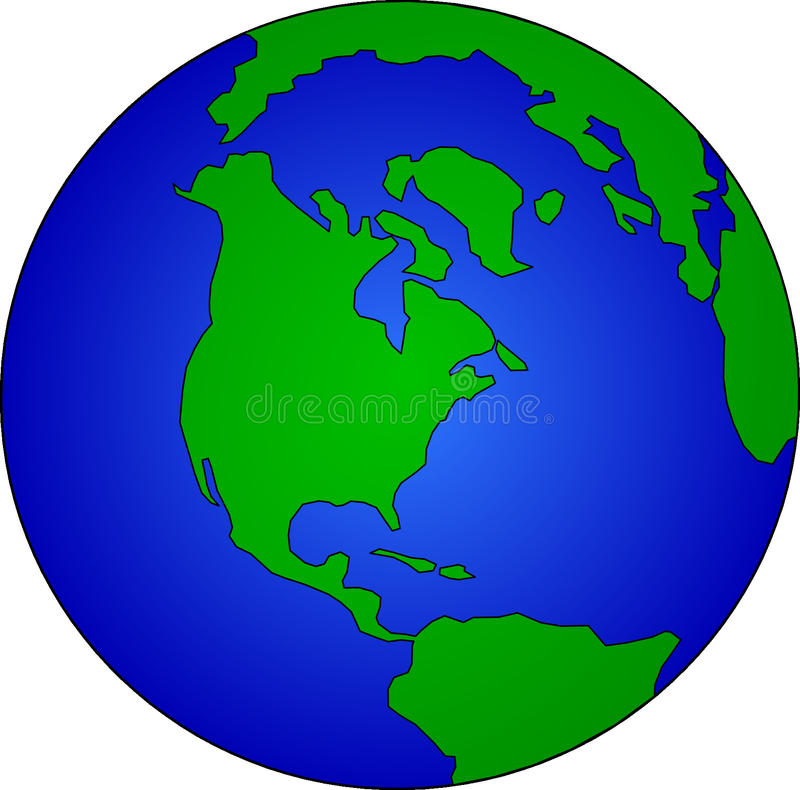 Green, Globe, Planet, Earth royalty free stock photos