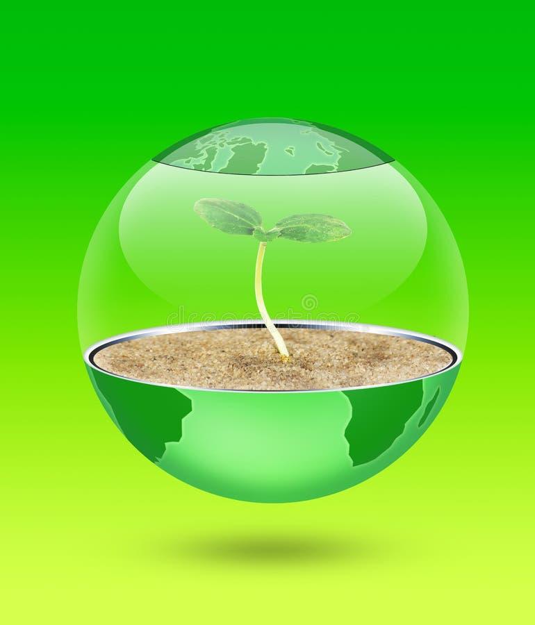 green globu ilustracja wektor