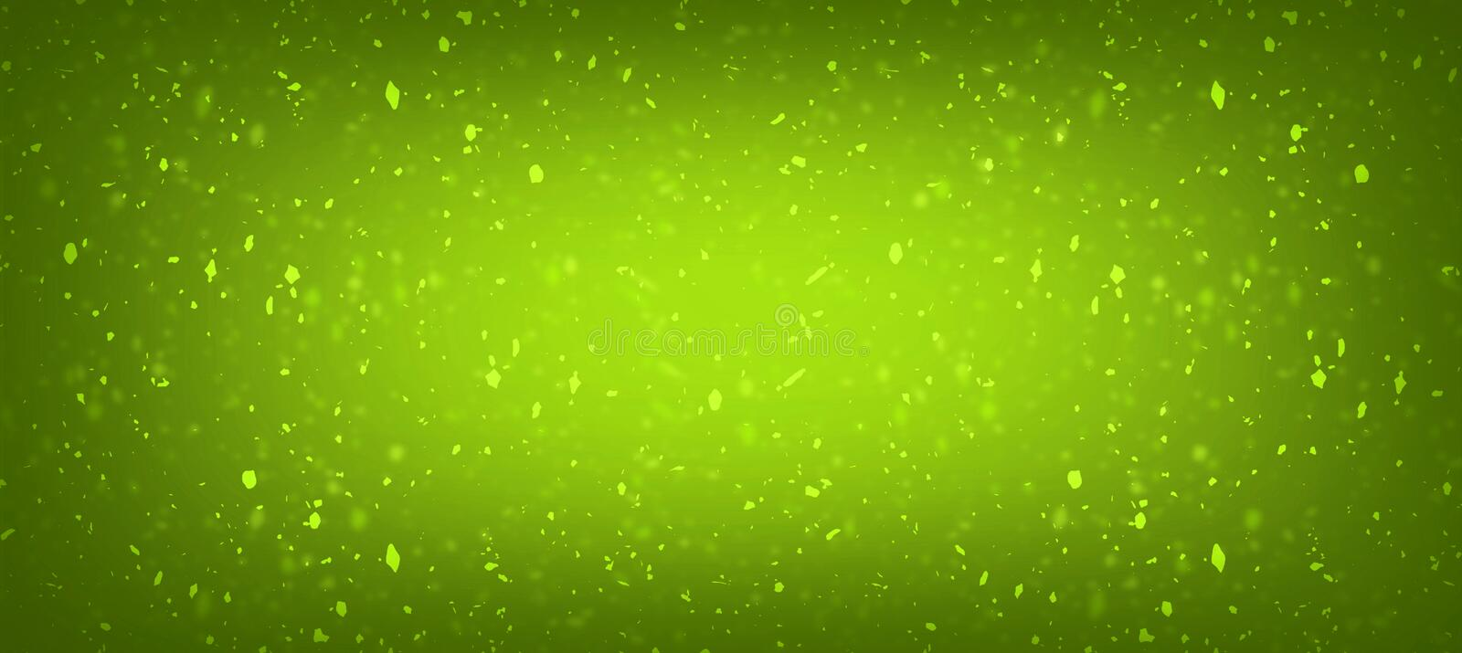 Green with gold fresh colour texture gradient background for stock illustration