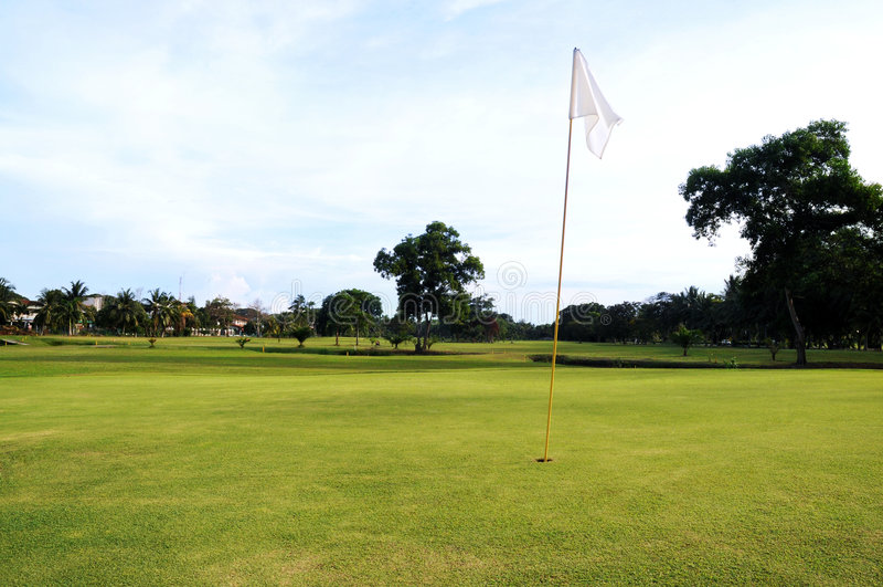 green golfowa obraz stock