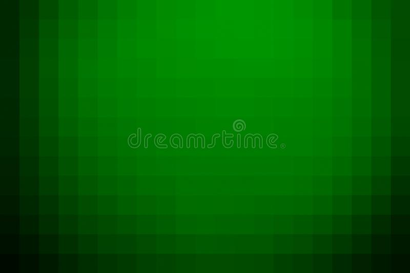 Green gradient polygonal background. Creative and luxury style illustration royalty free stock image