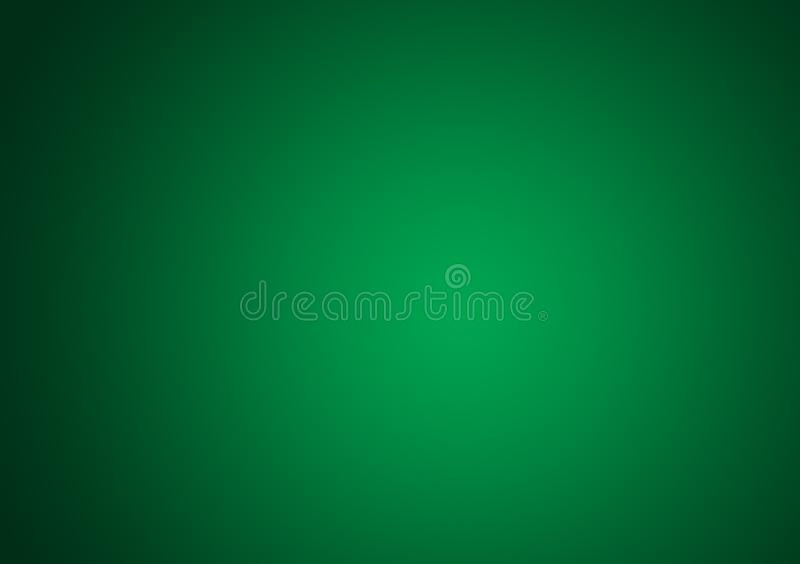 Green gradient wallpaper design background. For use with text and image layout or for device royalty free illustration