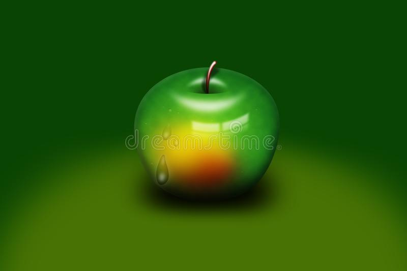 Green, Granny Smith, Apple, Fruit stock images