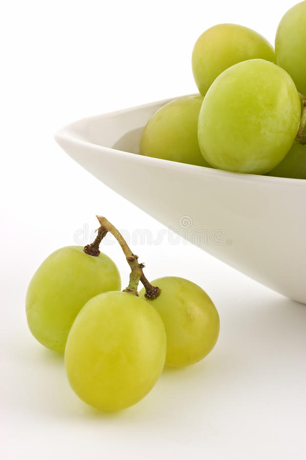 Download Green grapes stock image. Image of nutritious, snack - 18030661