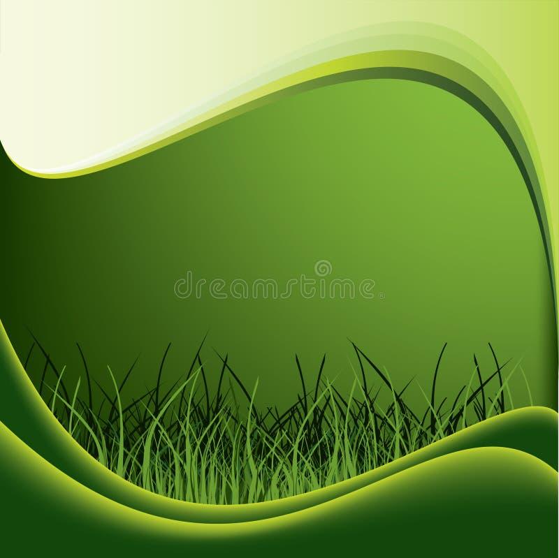 Green gras vector illustration