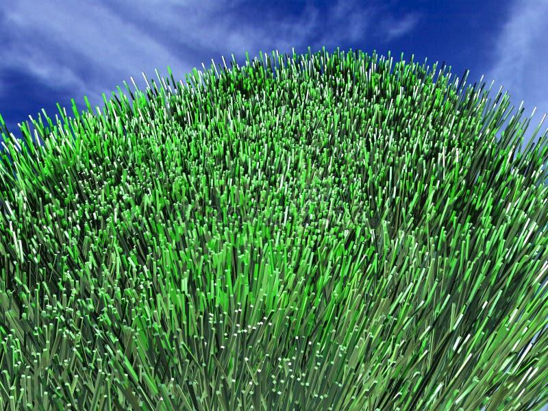 Green grass 5 stock illustration