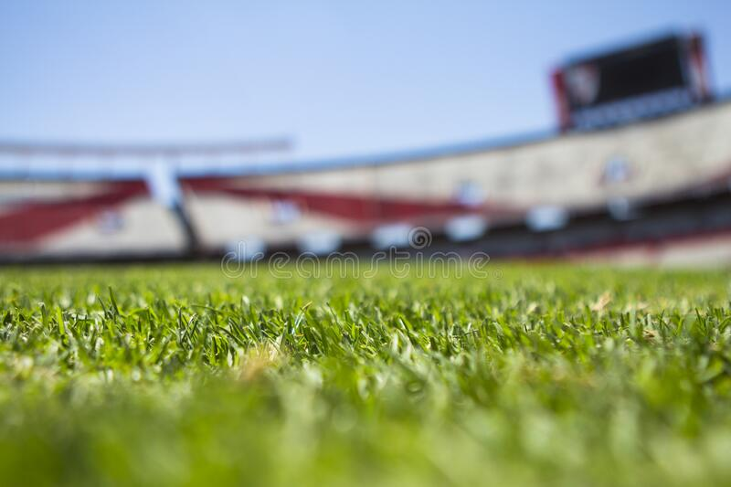Green Grass Across Beige Red Open Sports Stadium During Daytime Free Public Domain Cc0 Image