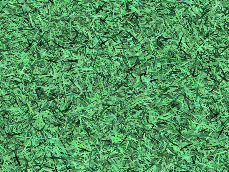 Green Grass 3D grapic design texture use as a pattern or background, paper element in scrapbook decorative. Using brush photoshop for designing the graphic stock image
