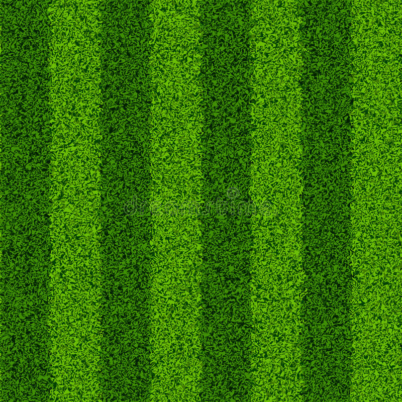 Green grass field. Seamless vector illustration stock illustration