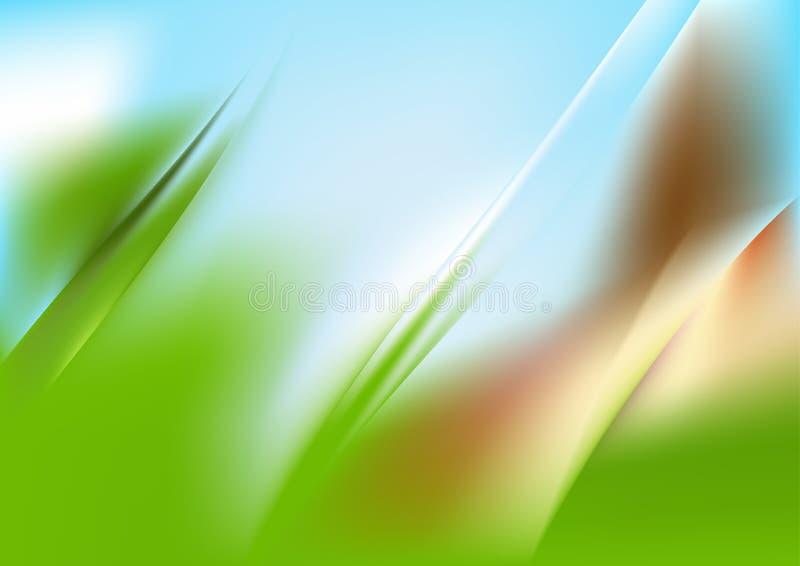 Green Grass Fractal Background Vector Illustration Design. Beautiful elegant Template graphic art image stock illustration
