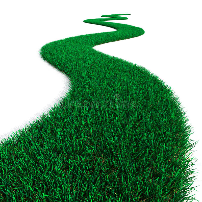 Download Green Grass Path Royalty Free Stock Photo - Image: 24448315