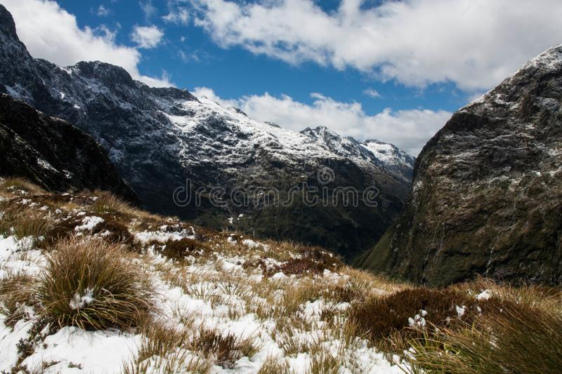 Green Grass And Snow Mountains During Daytime Free Public Domain Cc0 Image