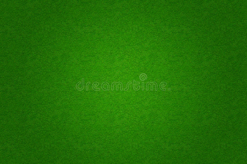 Green grass soccer or golf field background vector illustration
