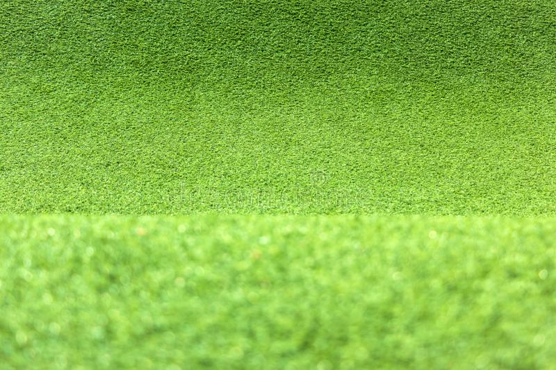 Green Grass Texture Carpet for Background royalty free stock image