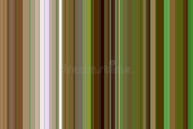 Green, gray, brown lines sparkling abstract background royalty free illustration