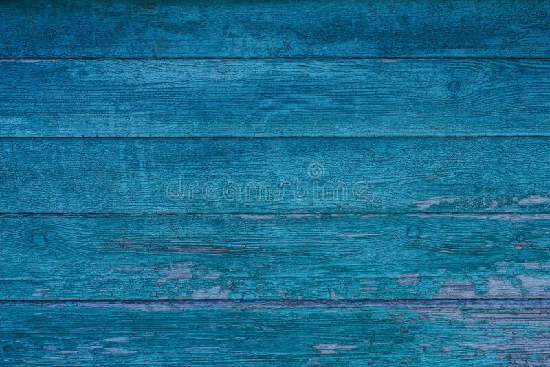 Green gray wooden texture from old wide shabby boards on the fence. Wall stock image