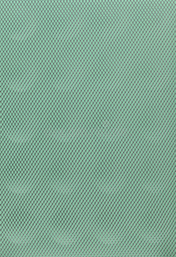 Green grey abstract metal grid background royalty free stock image