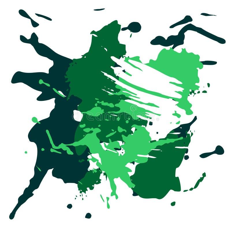 Green grunge background stock illustration