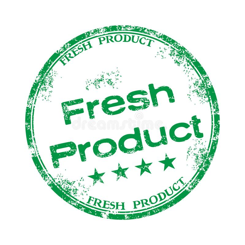 Fresh product rubber stamp royalty free stock photos