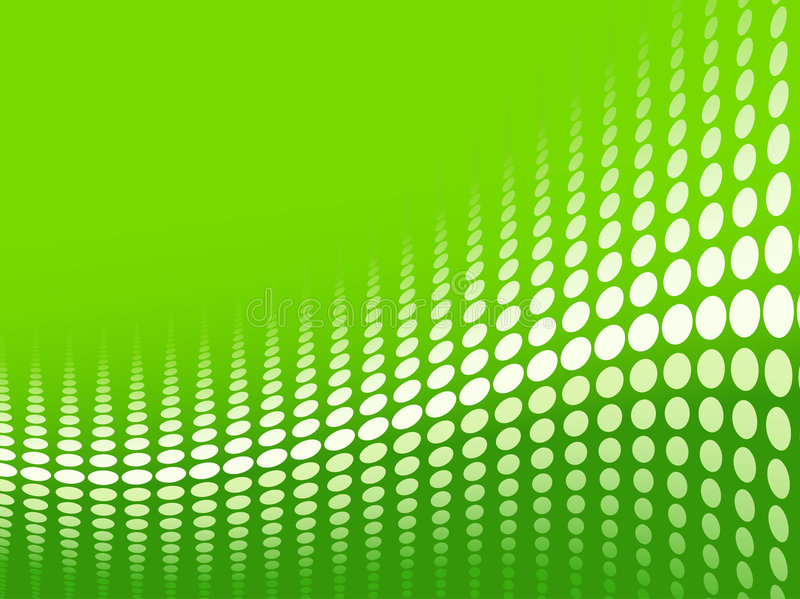 Download Green halftone background stock vector. Image of color - 7432897