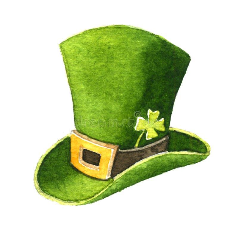 Green hat Patrick vector illustration