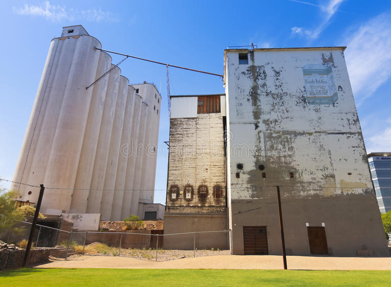 Download A Green At Hayden Flour Mill Shot, Tempe Editorial Stock Image - Image: 35253749