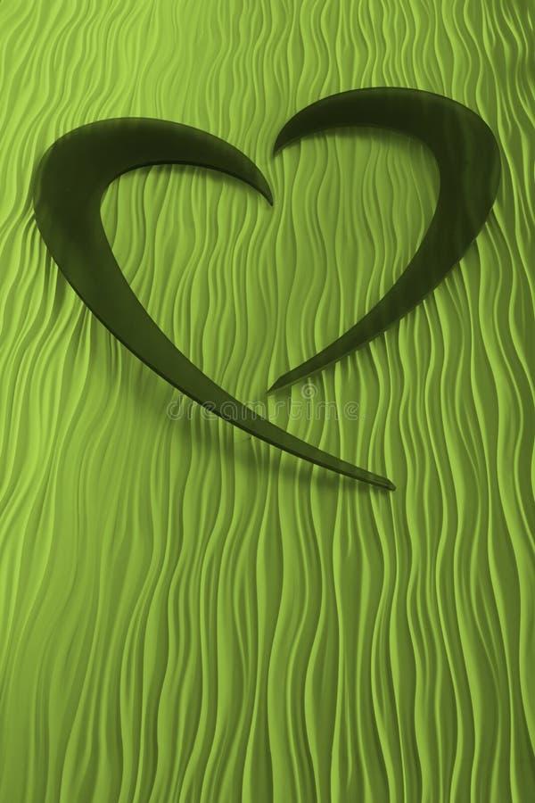 Download Green Heart stock illustration. Illustration of artistic - 16367078
