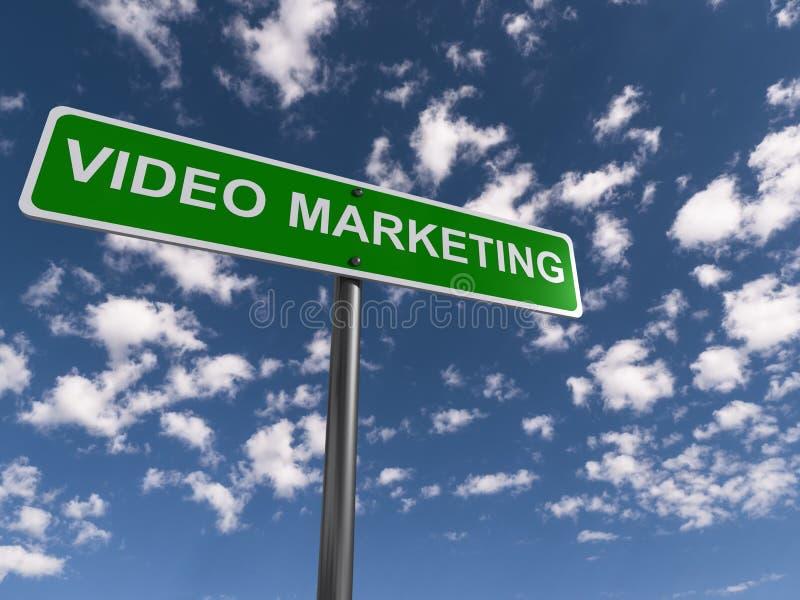 Video marketing vector illustration
