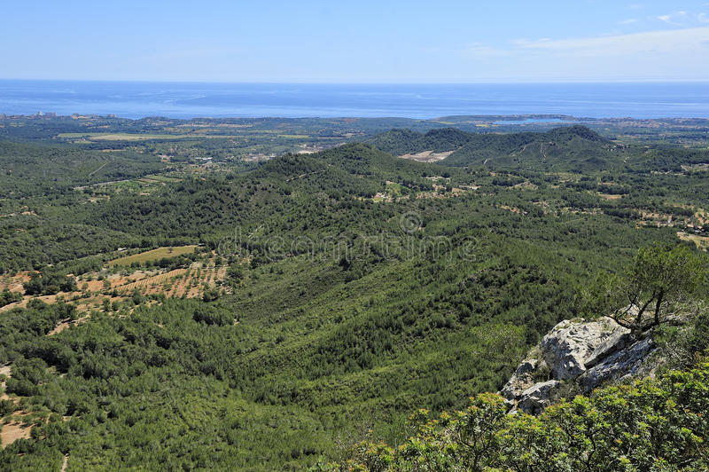 Download Green Hills Of Majorca Stock Photography - Image: 27805652