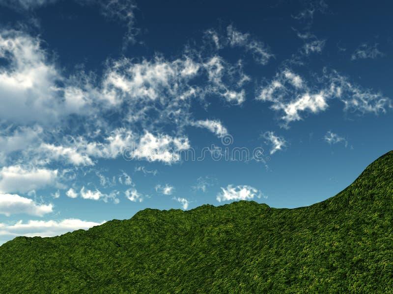 Green Hillside stock photography
