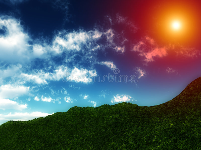 Download Green Hillside Royalty Free Stock Photo - Image: 4920975
